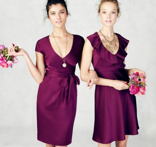 elegir el vestido de las damas de honor